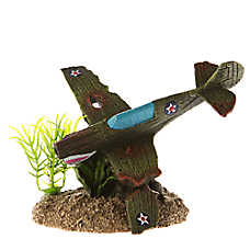 Top Fin® Fighter Plane Aquarium Ornament