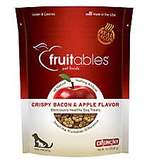 Fruitables® Crunchy Dog Treat - Natural, Bacon & Apple