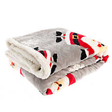 Pet Holiday™ Santa Pet Throw Blanket