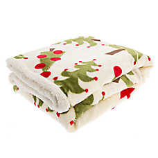 Pet Holiday™ Christmas Tree Pet Throw Blanket