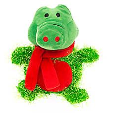 Pet Holiday™ Alligator Plush Dog Toy