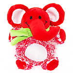 Pet Holiday™ Elephant Plush Dog Toy
