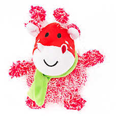 Pet Holiday™ Giraffe Plush Dog Toy