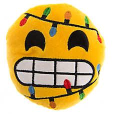 Pet Holiday™ Strewn Lights Emotion Plush Dog Toy