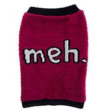 "Grreat Choice® ""Meh."" Dog Sweater"