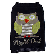 "Grreat Choice® ""Night Owl"" Dog Sweater"
