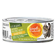 Good Natured™ Cat Food - Natural, Grain Free, Chicken & Vegetable, Cuts in Gravy