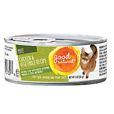 Good Natured™ Cat Food - Natural, Chicken & Vegetable, Pate