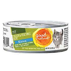 Good Natured™ Kitten Food - Natural, Chicken & Vegetable, Pate