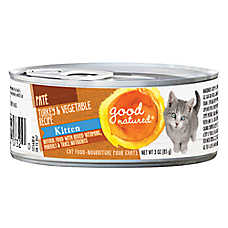 Good Natured™ Kitten Food - Natural, Turkey & Vegetable, Pate