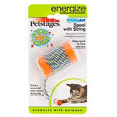 Petstages® Catnip Spool Cat Toy