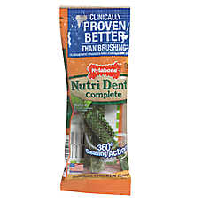 Nylabone® Nutri Dent Complete Dental Dog Chew - Chicken