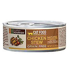 Simply Nourish™ Cat Food - Natural, Grain Free, Chicken Stew