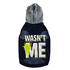 "Grreat Choice® ""Wasn't Me"" Dog Jersey Hoodie"