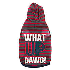 "Grreat Choice® ""What Up Dawg"" Jersey Dog Hoodie"