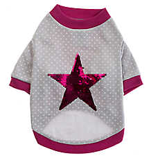 Grreat Choice® Star Fleece Dog Tee