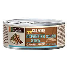 Simply Nourish™ Cat Food - Natural, Grain Free, Oceanfish Stew