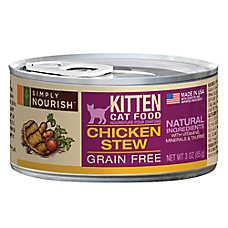 Simply Nourish™ Kitten Food - Natural, Grain Free, Chicken Stew