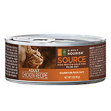 Simply Nourish™ Source Adult Cat Food - Grain Free, High Protein, Chicken