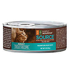 Simply Nourish™ Source Adult Cat Food - Grain Free, High Protein, Trout