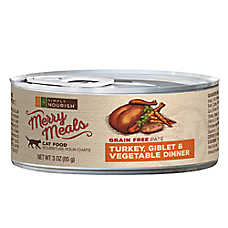 Simply Nourish™ Merry Meals Cat Food - Grain Free, Turkey, Giblet & Vegetable