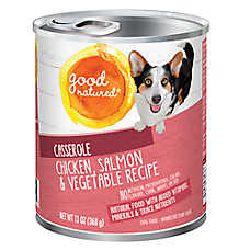 Good Natured™ Dog Food - Natural, Chicken, Salmon & Vegetable, Casserole