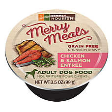 Simply Nourish™ Merry Meals Adult Dog Food - Grain Free, Chicken & Salmon