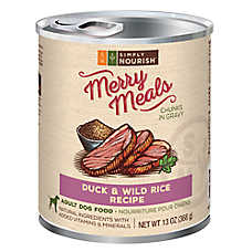 Simply Nourish™ Merry Meals Adult Dog Food - Natural, Duck & Wild Rice
