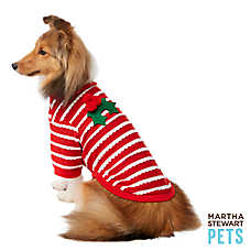 Martha Stewart Pets® Holiday Scallop Mistletoe Dog Tee