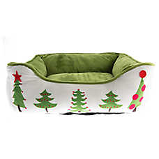 Pet Holiday™ Tree Cuddler Dog Bed