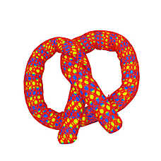 Petstages® Plaque Away Catnip Pretzel Cat Toy