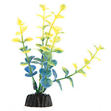 Top Fin® Tie Dye Blue and Green Aquarium Plant
