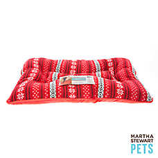 Martha Stewart Pets® Holiday Fairisle Pillow Dog Bed