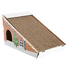 Pet Holiday™ Play Cavern Cat Scratcher