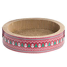 Pet Holiday™ Scratch and Cuddle Cat Scratcher