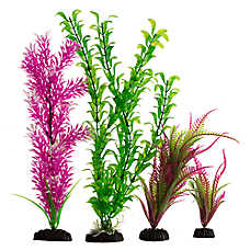 Top Fin® Purple & Pink Aquarium Plants Value Pack