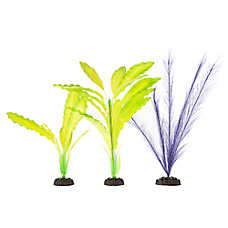 Top Fin® Green and Purple Aquarium Plant Variety Pack