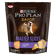 Purina® Pro Plan® Savor Roasted Slices Dog Treat - Chicken