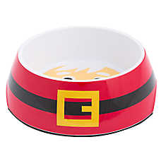 Top Paw® Holiday Santa Dog Bowl