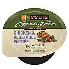 Simply Nourish™ Adult Dog Food - Grain Free, Chicken & Vegetable
