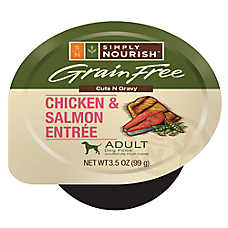 Simply Nourish™ Adult Dog Food - Grain Free, Chicken & Salmon