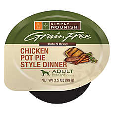 Simply Nourish™ Adult Dog Food - Grain Free, Chicken Pot Pie