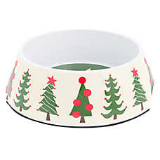 Top Paw® Holiday Tree Dog Bowl