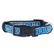 Pet Holiday™ Happy Hanukkah Dog Collar