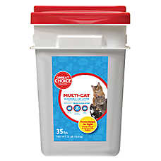 Grreat Choice® Multi-Cat Cat Litter - Scoopable, Fresh Scent