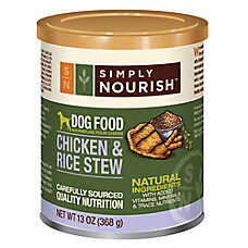 Simply Nourish™ Dog Food - Natural, Chicken & Rice Stew