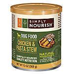Simply Nourish™ Dog Food - Natural, Chicken & Pasta Stew