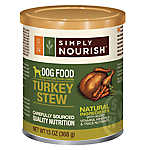 Simply Nourish™ Dog Food - Natural, Turkey Stew
