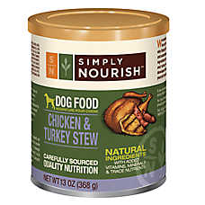 Simply Nourish™ Dog Food - Natural, Chicken & Turkey Stew