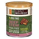 Simply Nourish™ Dog Food - Natural, Grain Free, Beef Stew